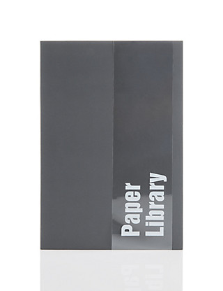A5 Grey Soft Touch Notebook Home