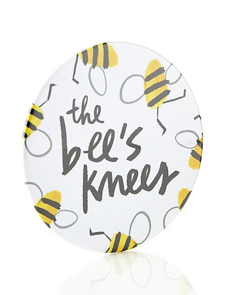 The Bee's Knees Compact Mirror
