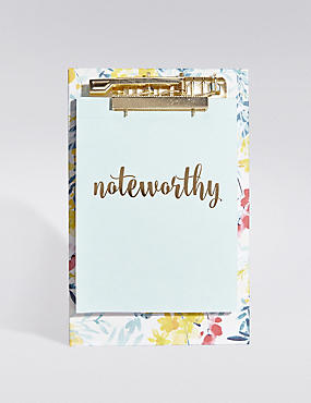 Blooming Summer Noteworthy Clipboard