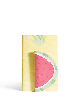 A5 & A6 Fruity Notebook Set