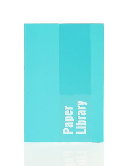 A6 Turquoise Soft Touch Notebook
