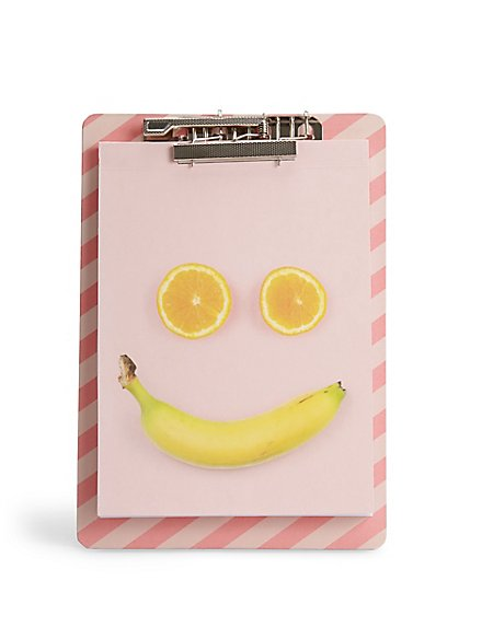 Fruit Face Notebook with Clipboard