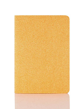 Orange Glitter A5 Notebook