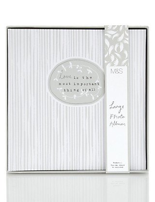 Classic Large Wedding Photo Album Home