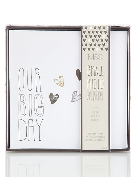 Contemporary Small Wedding Photo Album
