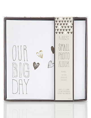 Contemporary Small Wedding Photo Album Home