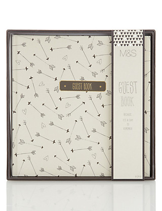 Contemporary Wedding Guest Book Home