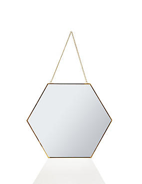 Hexagonal Mirror Frame