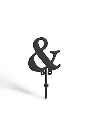 Alphabet Door Hook Ampersand