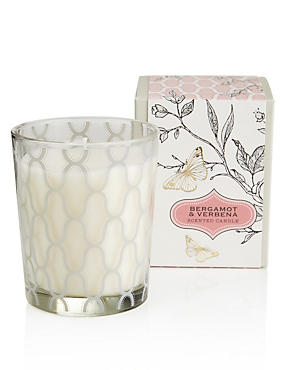 Bergamot & Verbena Large Boxed Candle