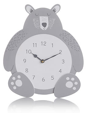 Bear Hanging Clock