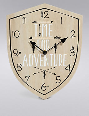 Time for Adventure Clock