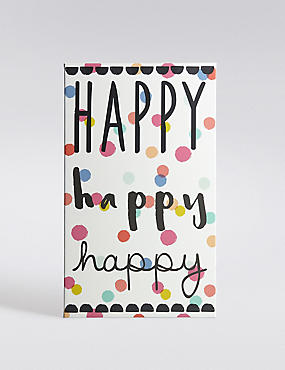 Light Up Happy Canvas