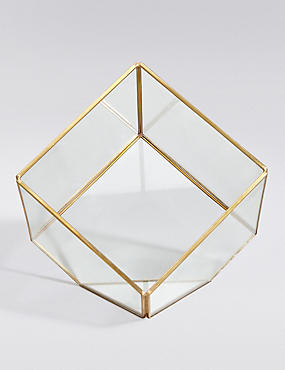 Glass & Metal Terrarium