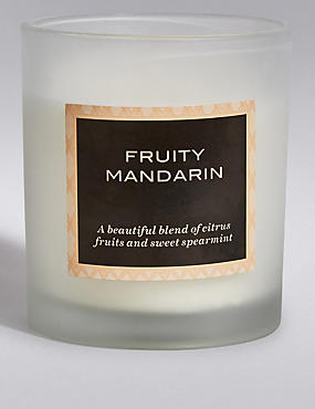 Fruity Mandarin Filled Candle