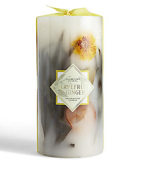Grapefruit & Ginger Inclusion Candle