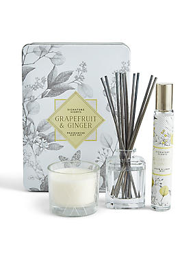 Grapefruit & Ginger Tin Gift Set