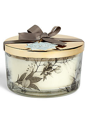 Neroli, Lime and Basil 3 Wick Gift Candle