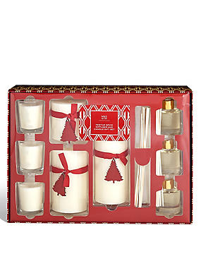 Festive Spice Bumper Pack Candle & Diffuser Set