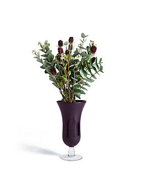 Thistle in Footed Vase