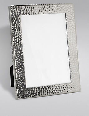 Hammered Metal Photo Frame 13 x 18cm (5 x 7inch)