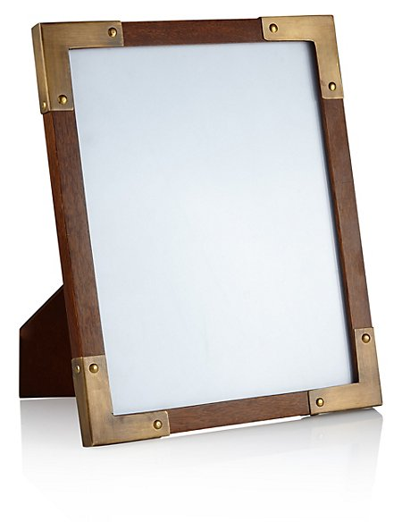 Conran Dark Wood Photo Frame