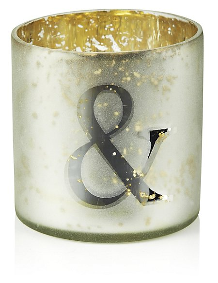 Mercury Glass Votive & Tea Light Holder