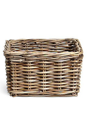Kubu Rattan Small Storage Basket