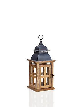 Distressed Window Lantern