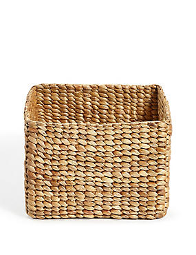 Water Hyacinth Small Storage Basket