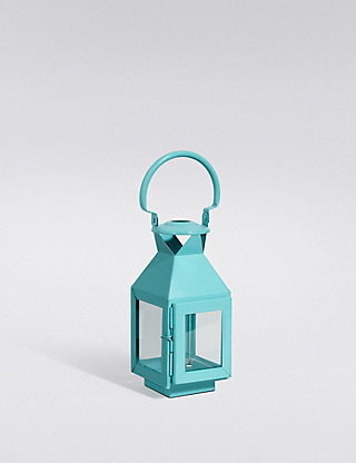 Small Metal Lantern Home