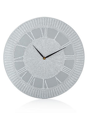 Domed Roman Numeral Clock
