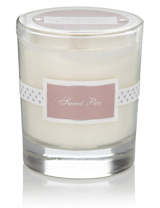 Sweet Pea Filled Scented Candle Home