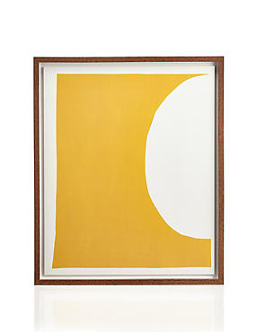 Conran Yellow Moon Wall Art