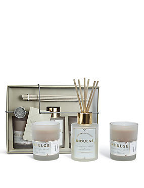 Indulge Diffuser + Candle Gift Set