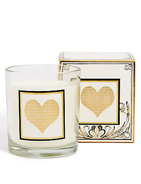 Alphabet Scented Candle Heart