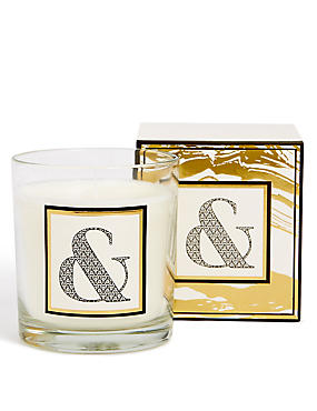 Alphabet Scented Candle Ampersand