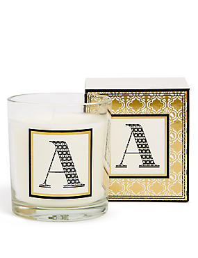 Alphabet Scented Candle A
