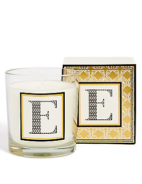 Alphabet Scented Candle E