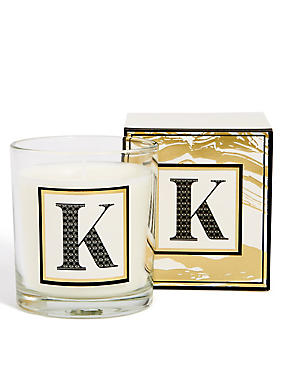 Alphabet Scented Candle K