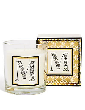 Alphabet Scented Candle M