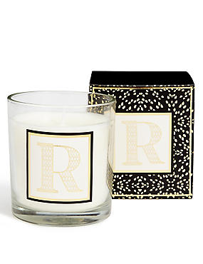 Alphabet Scented Candle R