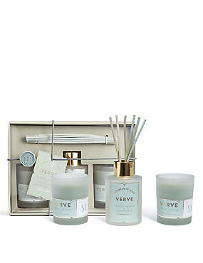 Verve Diffuser + Candle Gift Set