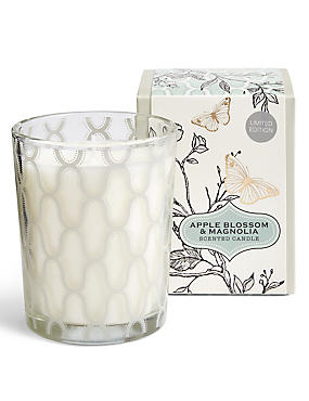 Apple Blossom & Magnolia Boxed Candle