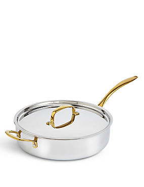 M&S Chef Tri Ply 28cm Sauté Pan