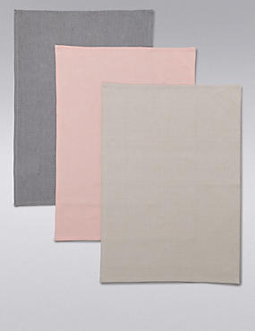 3 Pack Herringbone Tea Towels