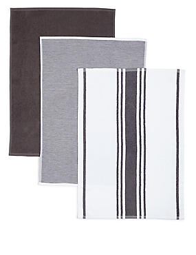 3 Pack Assorted Hand Towels