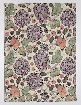 Fruits Print Tea Towel