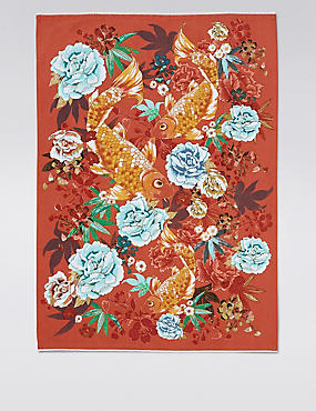 Opulent Carp Tea Towel
