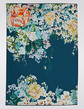 Opulent Floral Tea Towel